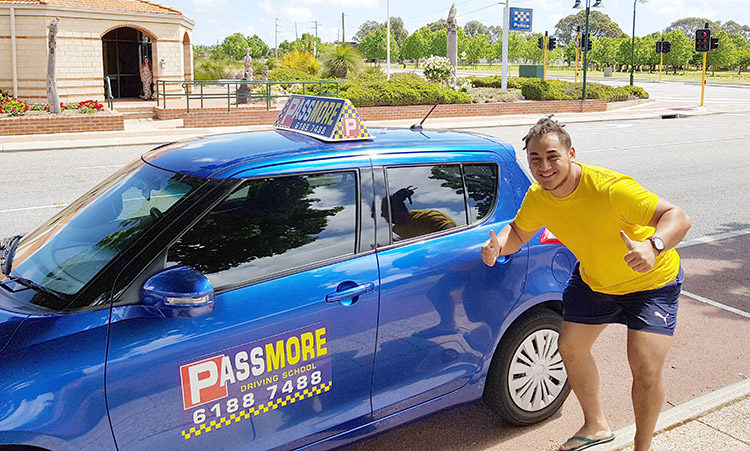 Student passes in rockingham with passmore driving school