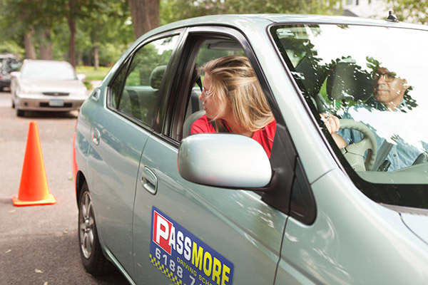 book a driving test with passmore driving school